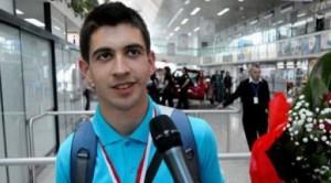 Harun Hindija: medalja na internacionalnoj olimpijadi